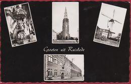 Ruysselede Ruiselede Ruislede Groeten Uit Molen Windmolen Moulin A Vent (in Zeer Goede Staat) - Ruiselede