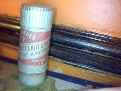 Boite  En Carton Poudre Eclair Lumiere Artificiele Avec 3 Recharges Non Fonctionelles Pour Appareils Photos Anciens - Scatole