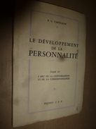 Le Développement De La Personnalité (l'art De La Conversation Et De La Correspondance) Par R. G. Vaschalde - Books, Magazines, Comics