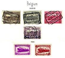 BELGIUM, Railway Parcels, Yv 170/72, 174, 176/77, Used, F/VF - Railway