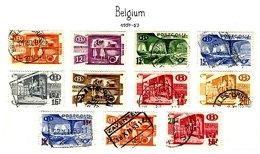 BELGIUM, Railway Parcels, Yv 322/29, 331/33, Used, F/VF, Cat. € 13 - Railway