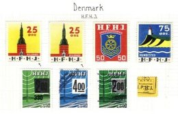 DENMARK, Railway Parcels, */o M/U, F/VF - Local Post Stamps