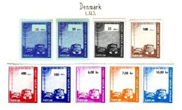 DENMARK, Railway Parcels, * MLH, F/VF - Local Post Stamps