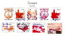 DENMARK, Railway Parcels, Used, F/VF - Local Post Stamps