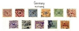 GERMANY, Railway Parcels, Used, F/VF - Wurttemberg