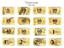 NETHERLANDS, Railway Parcels, Used, F/VF - Railway