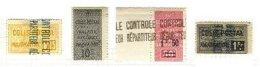ALGERIA, Railway Parcels, * MLH, F/VF - Algérie (1924-1962)
