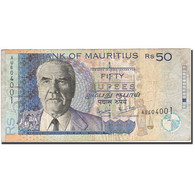 Mauritius, 50 Rupees, 1999, 2006, KM:50d, TB - Maurice