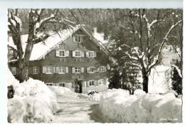 """19157  CPA OBERSTAUFEN  : Alpengasthof """" BAD RAIN """" , Jolie Carte Photo 1964 , ACHAT DIRECT !! - Oberstaufen"""