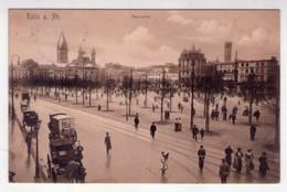 Cartolina/postcard Köln A. Rh. - Colonia. Neumarkt. 1906 - Germania