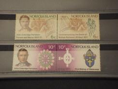 NORFOLK - 1971 PIONIERE  4 VALORI - NUOVI(++) - Isola Norfolk