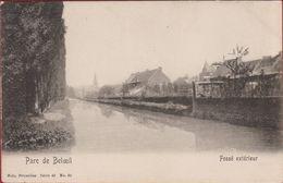 Beloeil Henegouwen Hainaut Parc De Beloeil - Fossé Extérieur 1906 (In Zeer Goede Staat) - Beloeil