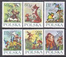 POLAND  1105-10  **  FAIRY TALES   ORPHAN  MARY - 1944-.... Republic