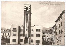 CARTOLINA GENOVA - PRA' - PIAZZA SCIESA  A. - Genova (Genoa)