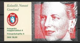 1996 MNH Greenland, Booklet Postfris - Carnet