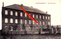 AULNOIS-QUEVY - Cour Des élèves - (Pensionnat Français De La Sainte Union) - Quévy