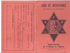 FEDERATION NATINALE DES TREPANES ET BLESSES DE LA TETE 13è SECTION SAINT ETIENNE 1965-aide Et Assitance Au Porteur De Ce - Non Classés