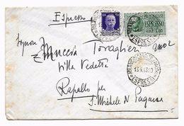 EDB68 - REGNO , Espresso Da Milano Del 13/4/1943 . - 1900-44 Vittorio Emanuele III
