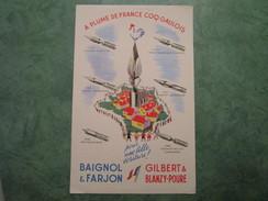 BAIGNOL & FARJON - Buvards, Protège-cahiers Illustrés