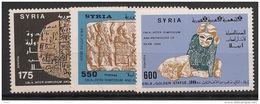 Syrie - 1988 - N°Yv. 829 à 831 - Archéologie - Neuf Luxe ** / MNH / Postfrisch - Syrie