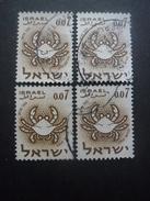 ISRAEL N°189 X 4 Oblitéré - Israel