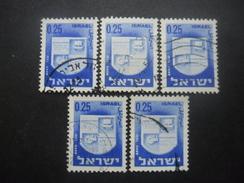 ISRAEL N°280 X 5 Oblitéré - Israel