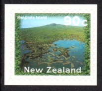 NEW ZEALAND 2004 New Zealand Landscapes 90c S/ADH: Single Stamp UM/MNH - New Zealand