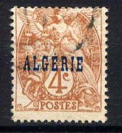 ALGERIE  - 5° - TYPE BLANC - Algérie (1924-1962)