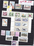 Syria 2011 Complete Year Unti All Complete Set MNH -many Topicals- Scarce Defintive  4v. - Skrill Payment-2 Scans - Syria