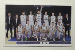 Slovenia Basketball Cards  Stickers Nr. 61 Slovenia National Team  EUROBasket Lithuania 2011 - Vignettes Autocollantes