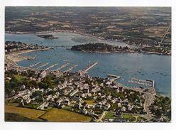 LA TRINITE SUR MER--1976---Vue Aérienne--Vue D'ensemble Sur Le Port-- -timbre-cachet  Carnac-56......... à Saisir - La Trinite Sur Mer