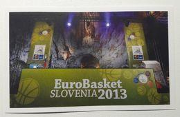 Slovenia Basketball Cards  Stickers Nr. 162 EUROBasket 2013 Slovenia Postojna Caves Drawing Groups - Adesivi
