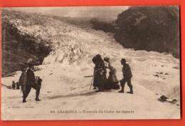 EVG-05 Alpinistes à ChamonixTraversée Du Glacier Des Bossons Animé. Non Circulé. - Alpinisme