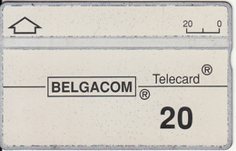 BELGIUM - Belgacom Telecard 20 Units, CN : 302B, Used - Belgium