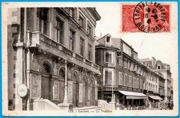 CPA 56 LORIENT Morbihan - Le THEÂTRE ° J. Nozais édit. - Lorient