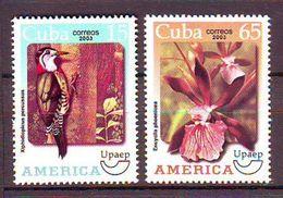 Cuba. - 2003 America - Flora And Fauna UPAEP   - 2 V ** (?) - Ungebraucht