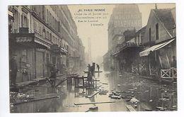 CPA Paris 15 Paris Inondé 1910 Rue De Lourmel à Grenelle N° 65 Noyer - Inondations De 1910