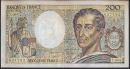 °°° FRANCE - 200 FRANCS 1989 °°° - 1962-1997 ''Francs''