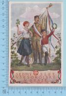 Spartakiade 1920 Sedmy Slet Vseskolsky V Praze (19)  - Post Card Carte Postale - Tchéquie
