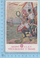 Spartakiade 1920 Prague Sedmy Slet Vseskolsky V Praze (13)  - Post Card Carte Postale - Tchéquie
