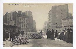 CPA Paris 15 Paris Inondé 1910 Le Désastre à Grenelle N° 63 Noyer - Inondations De 1910