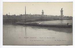 CPA Paris 7 Paris Inondé 1910 Pont Alexandre III N° 57 Noyer - Inondations De 1910