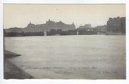 CPA Paris 7 Paris Inondé 1910 Pont Solférino N° 56 Noyer - Inondations De 1910