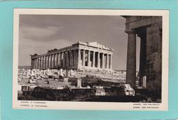 Old Postcard Of The Patthenon,Athens, Greece,Y36. - Grecia