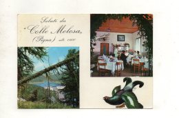 (italie) LOCANDA RISTORANTE -COLLE MELOSA -Prop. Borfiga Ambrogio -BUGGIO - PIGNA (impéria) 1986 - Italie
