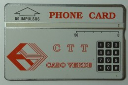 CAPE VERDE - L&G - CTT - D2 - Ist Control - 50 Units - 1st Issue - 010C - Used -  RARE - Cape Verde