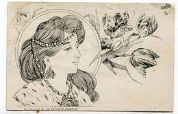 CPA  Illustrateur  : La Broderie Illustrée     VOIR  DESCRIPTIF  §§§ - 1900-1949