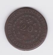 20 Réis 1829  TTB - Brésil