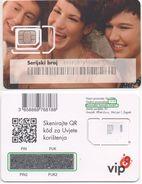 Croatia, VIP Mint SIM Card, Chip Type 2, Producer Gemalto GmbH - Croatie