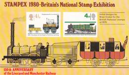 Great Britain 1980 Stampex 1980 Souvenir Sheet, Mint Never Hinged - 1952-.... (Elizabeth II)